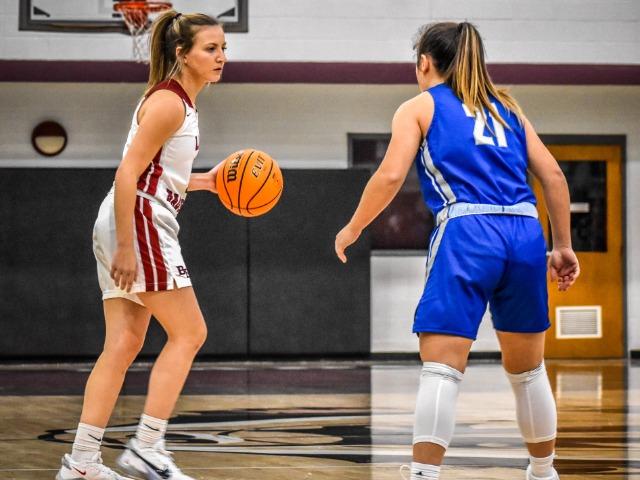 Senior High Girls  Basketball vs Greenbrier - Senior Night