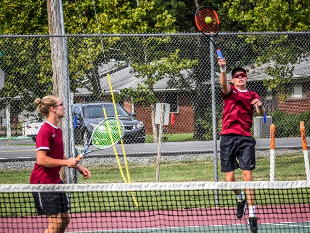 Varsity Boys Tennis vs. LRCA  9.17.20 (Photos by Kayleigh Smith)