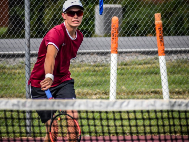 Varsity Boys Tennis vs. LRCA  9.17.20 (Photos by Kayleigh Smith)