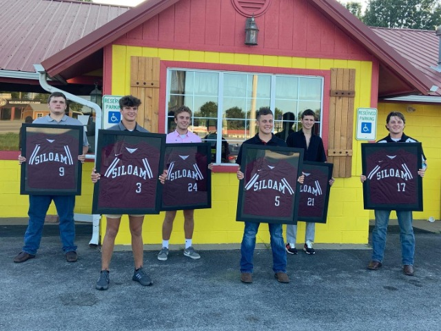 Celebrating Senior 2020 Baseball Players