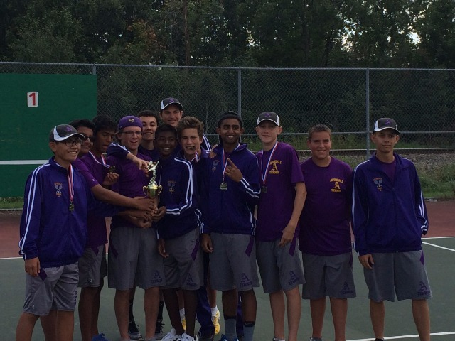 2017 Avondale Boys Tennis Team receives the All Academic Award! This award honors the student athletes for their many hours of work and dedication in maintaining high academic achievement while being part of a competitive athletic team. With this achievement, these student athletes have brought honor to themselves, their school, and their community.  Please visit the website: www.mhsteca.org for more information Once again, Congrats to our boys 2017  tennis team! Keep up the great work in tennis and academics!