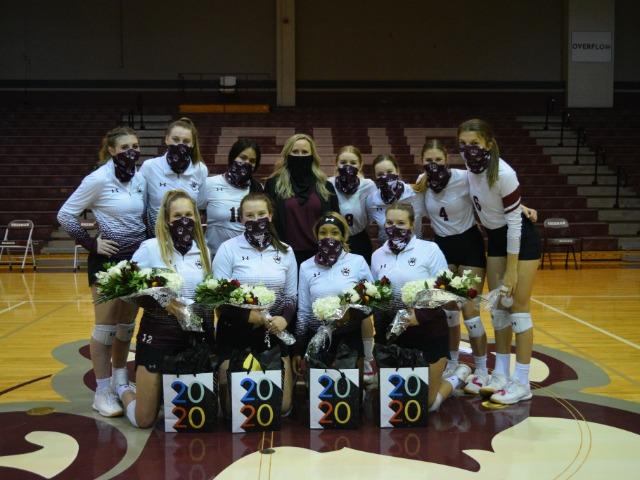 SHS Volleyball Senior Night 2020