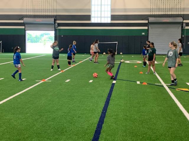 Lady NDN Soccer Camp
