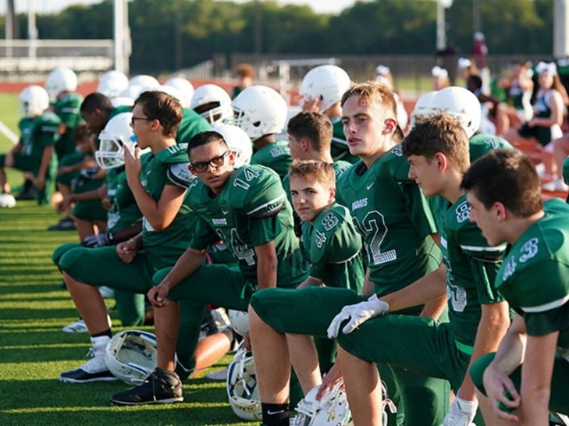 Boys Freshmen White Football gallery