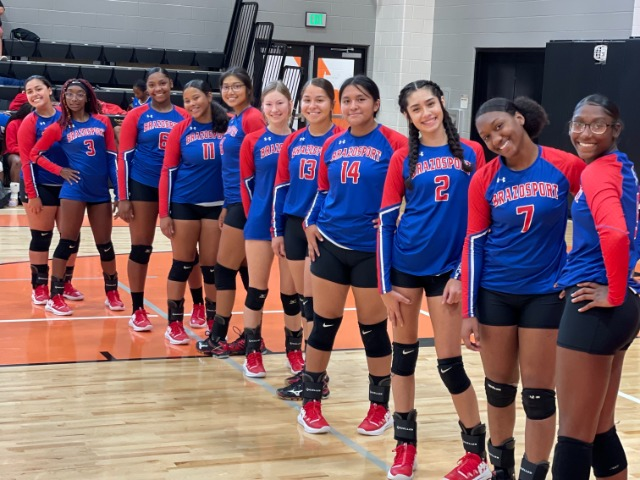 Lady Exporters at the Van Vleck Tournament