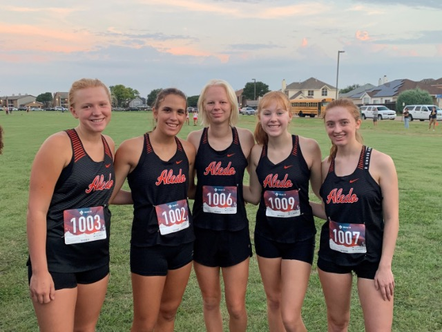 Aledo Cross Country at Cowtown Challenge