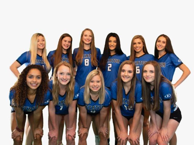2019 Varsity Lady Eagles Volleyball