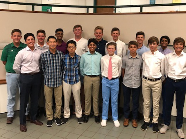 2018-2019 Boys JV Golf