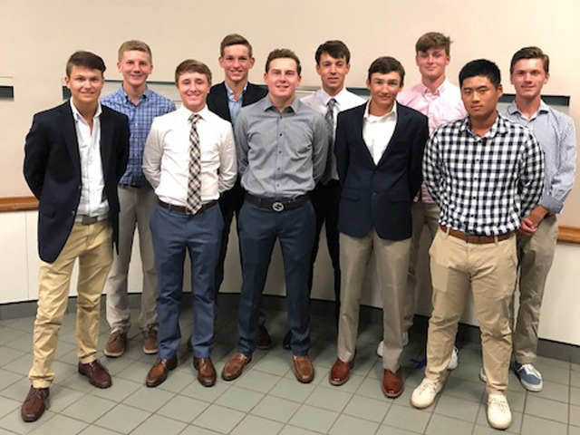 2018-2019 Boys Varsity Golf