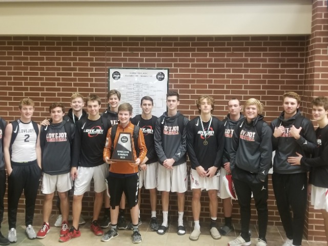 Varsity Boys Win 3rd in Prosper Tourney