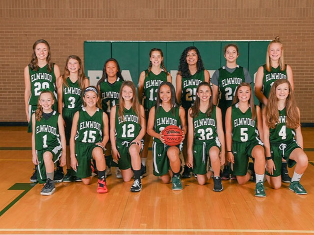 Girls 8th Grade Basketball Gallery Images