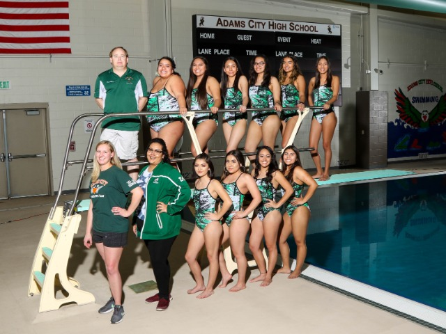 Varsity Girls Swim 2017-2018