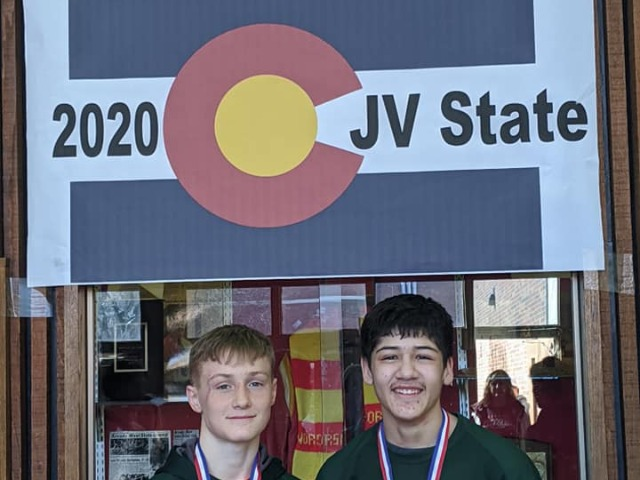 JV State Championships 2020! Daniel Long finished 5th place and Seth Deaguero finished in 3rd place!!!
