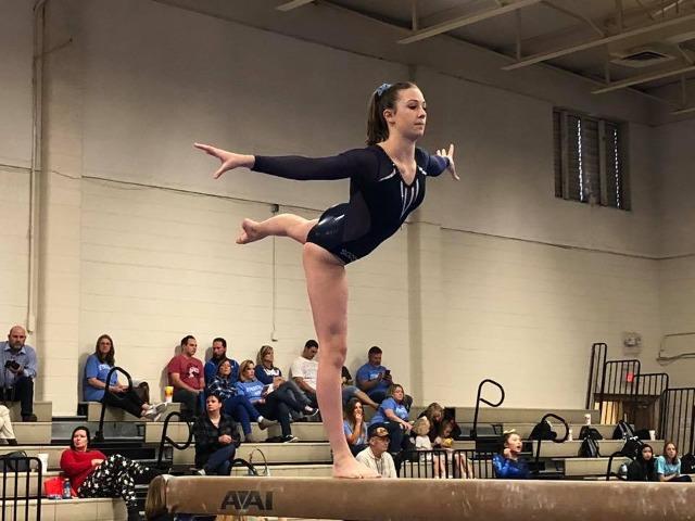 2018-2019 Girls Gymnastics 4 year Lettermen - Tatum & Katherine