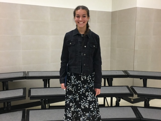 Sophomore Sophia Oliai Recognized at School Board Meeting
