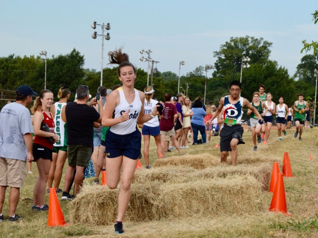 2019 Greenhill Relays - Freshman Natalie Van Arsdale