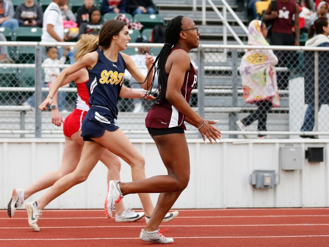2019 Mesquite ISD Invitational - Junior Ashley Nelson - 100 M Dash