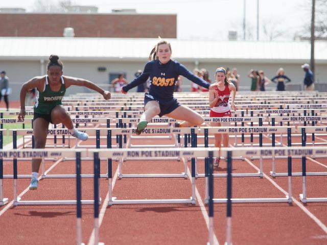 2019 McKinney Boyd Relays - Sophomore Kathryn Dunnill - 100 M Hurdles