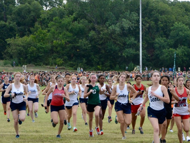 2019 Greenhill Relays - JV Race