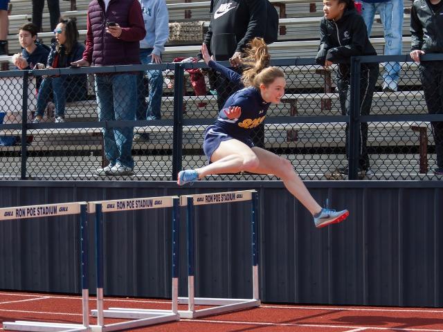 2019 McKinney Boyd Relays - Sophomore Claire Cochran - 100 M Hurdles