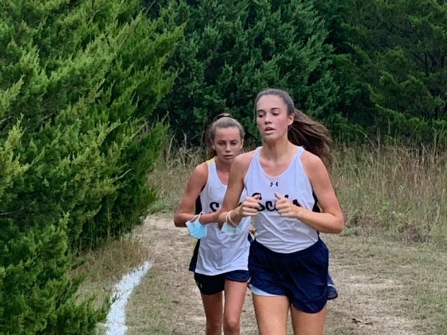 2020 Mesquite ISD JV Meet 3 - Mary Margaret Sell & Adalyn Booth