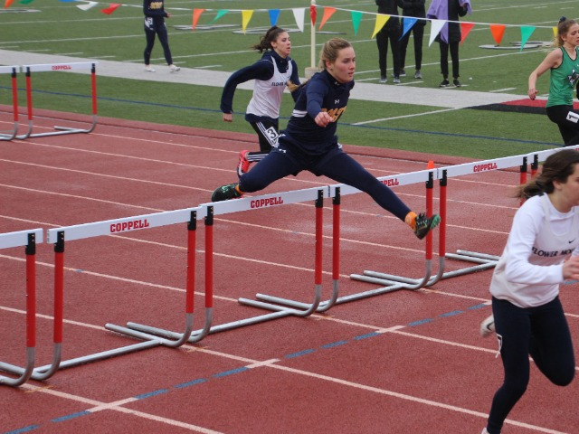 2019 Coppell Relays - Sophomore Kathryn Dunnill - 100 M Hurdles