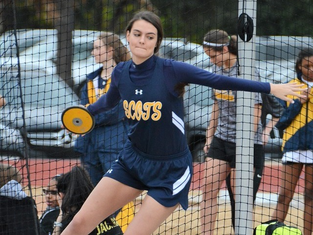 2019 Dual Meet - Junior AC McCormick - Discus