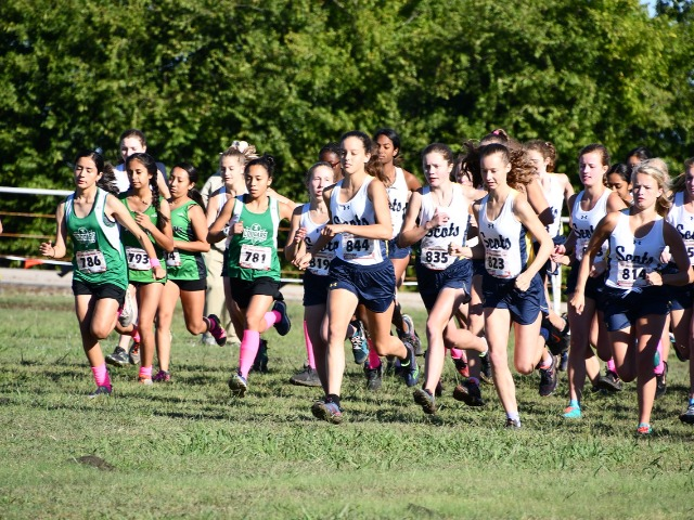 2018 District 11-5A Meet - JV Race Begins