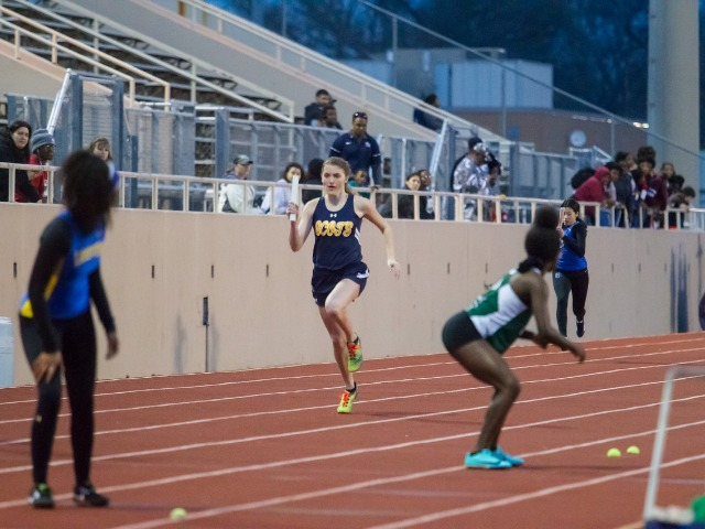 2019 Richardson Invitational - Sophomore Emory Brink - 4 x 200 M Relay