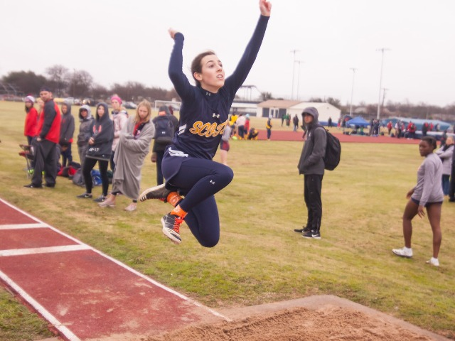 2019 McKinney Boyd Relays - Junior Margaret Chambless - Triple Jump