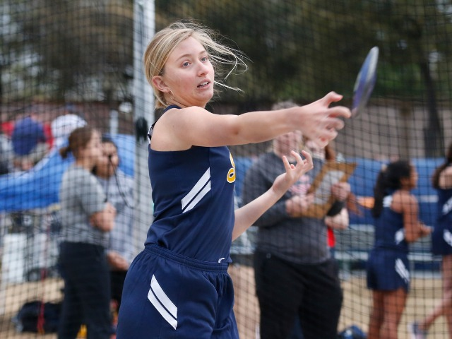 2019 Tracy Wills Invitational - Junior Chloe Kanaan - Discus
