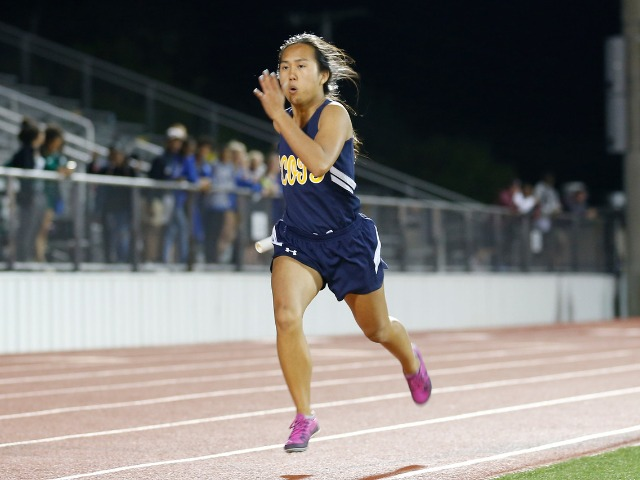 2019 Mesquite ISD Invitational - Junior Rebekah Miller - 4 x 400 M Relay