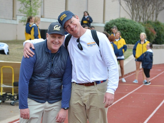 2019 Tracy Wills Invitational - Captains' Dads - Mr. Cobb and Mr. Kozmetsky