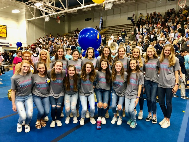2018 Regional Team at Pep Rally on Oct. 19th