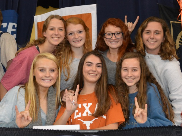 2019 NCAA Winter Signing Day Celebration - Lady Scots TF Captains