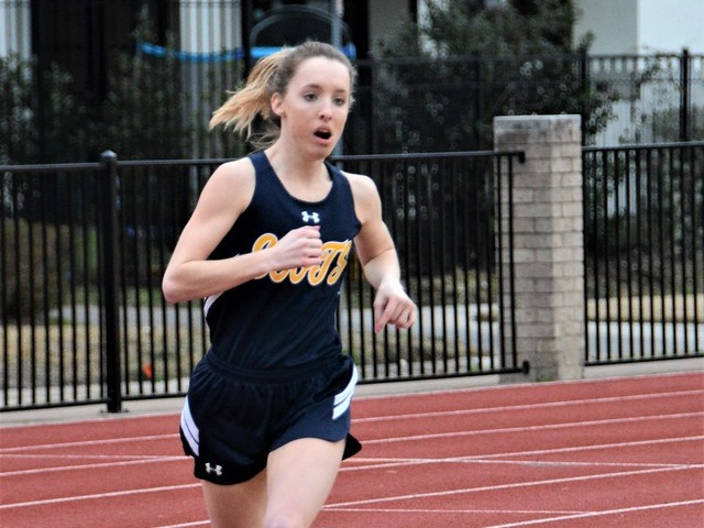 2019 Dual Meet - Junior Breanne Spence - 800 M Run