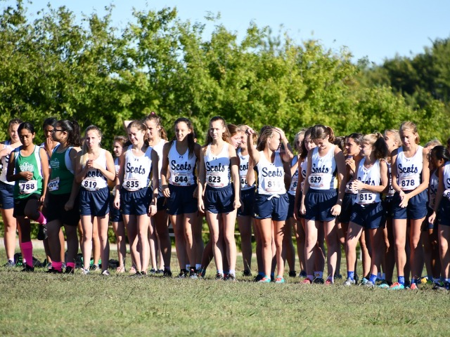 2018 District 11-5A Meet - JV on the Starting Line