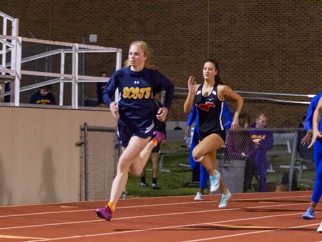 2019 Richardson Invitational - Freshman Linda Bakich - 400 M Dash