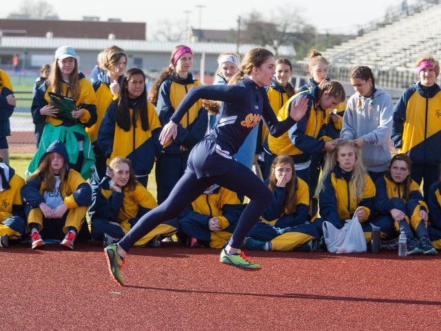 2019 McKinney Boyd Relays - Sophomore Emory Brink - High Jump