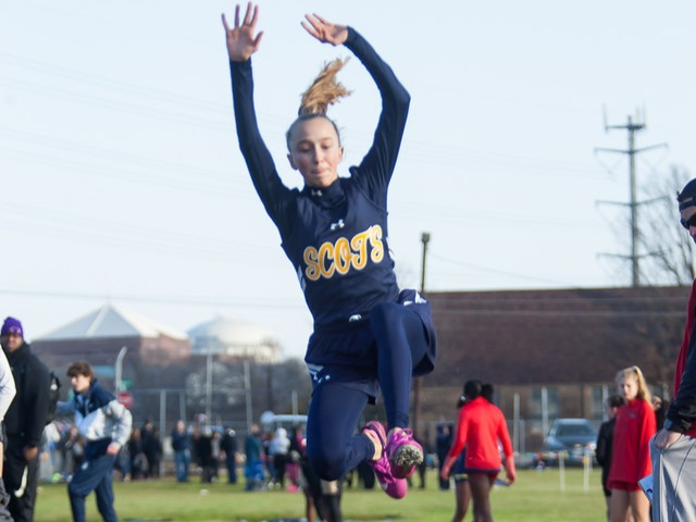 2019 McKinney Boyd Relays - Sophomore Meredith Sims - Long Jump