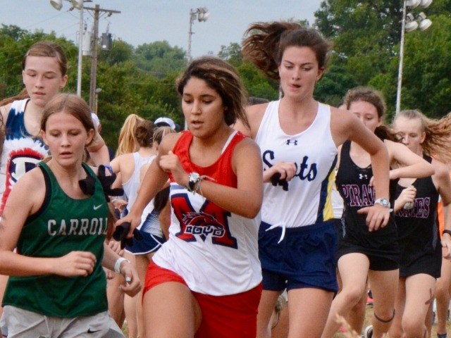 2019 Greenhill Relays - Senior Captain Caroline Lett