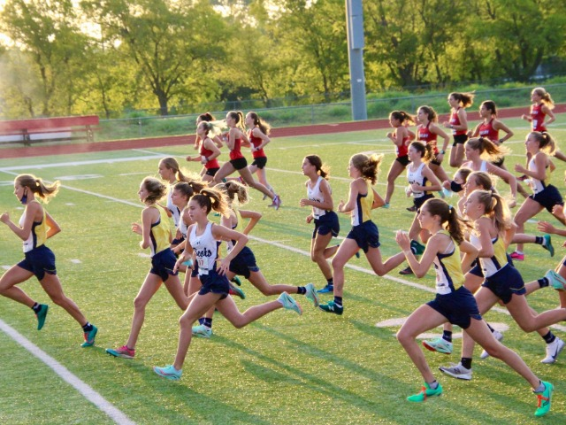2020 Lovejoy COVID JV Dual Meet  - Start of Race