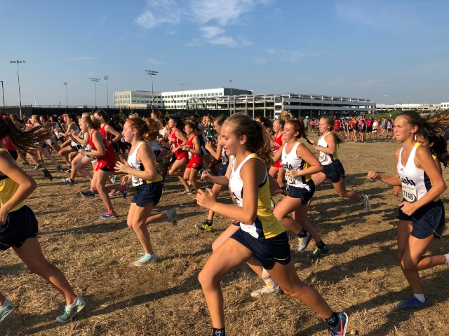 2019 Coppell Invitational - Start of JV Race