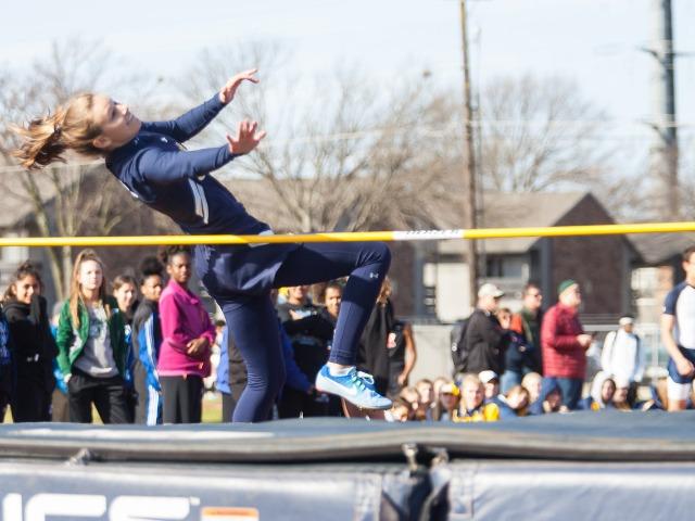 2019 McKinney Boyd Relays - Senior Abbie Meinecke - High Jump