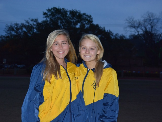 2019 Tracy Wills Invitational - Junior Georgia Holsomback and Senior Captain Claire Kozmetsky