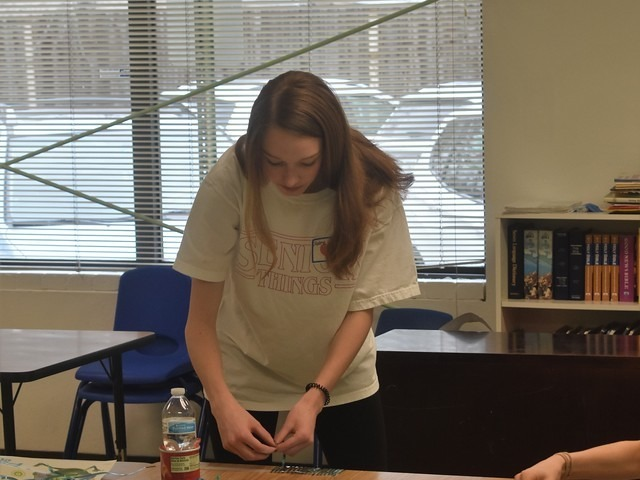 2019 Community Service Project - Voice of Hope - Sophomore Claire Cochran