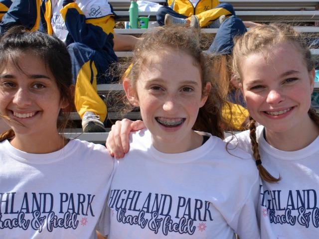2019 McKinney Boyd Relays - Freshmen Lola Rodriguez, Morgan Stalker, and Francie Pierce
