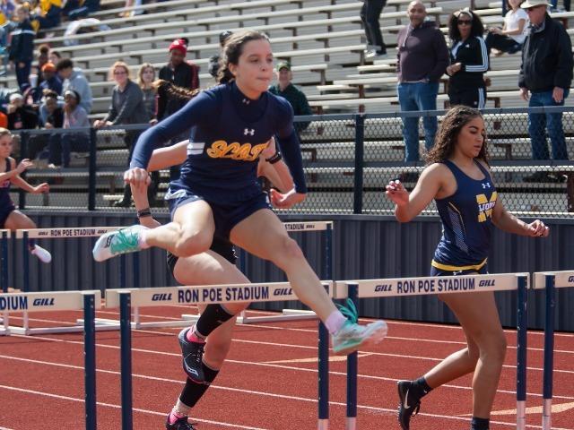 2019 McKinney Boyd Relays - Senior Anastasia Helms - 100 M Hurdles