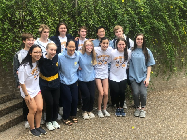 State 2020 Swimming and Diving Team