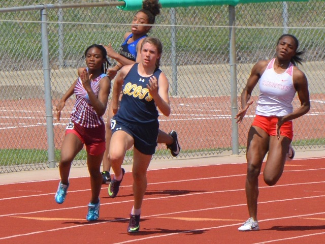 2019 District 11-5A Meet - Junior Erin Harper - 200 M Dash